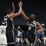 Harden and Durant combine for 64 as Nets beat Bucks, 125-123!
